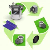 Carbono capturado plástico combustible
