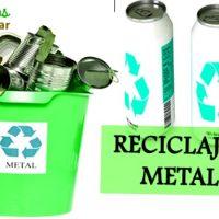 reciclar el metal
